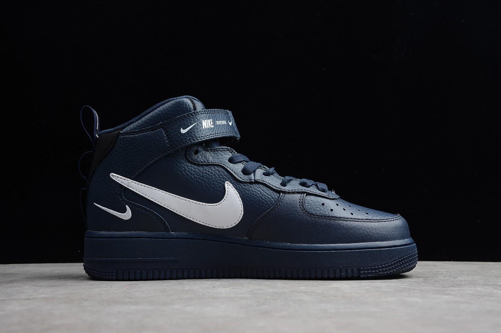 Nike Force Lv8 804609 Air 403 Obsidian 1 07 Black Mid White Tu31lKcFJ