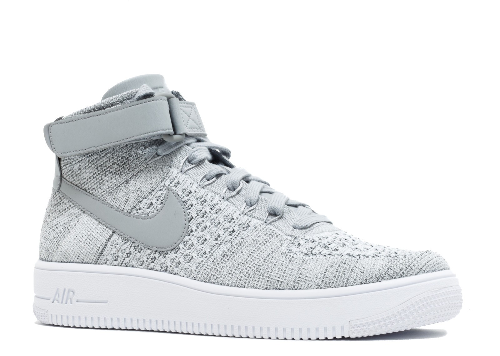003 White Wolf Ultra Flyknit Mid Force Grey Air Nike 817420 1 9IYHEW2D