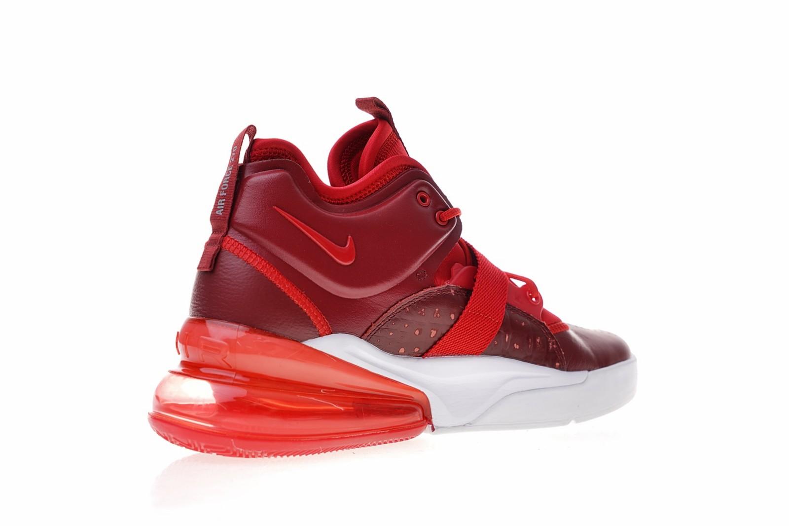 77ec86f1eed511 Nike Air Force 270 Red Croc Gym Red White AH6772-600 - Febbuy