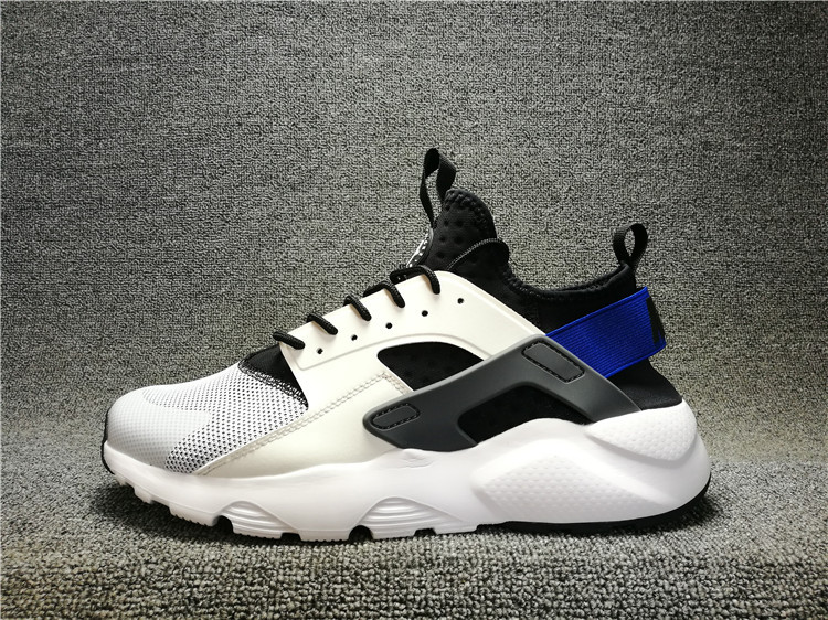 big sale 1636f 0a50e Nike Air Huarache 4 Run Ultra White Racer Blue 819685-100 - Febbuy