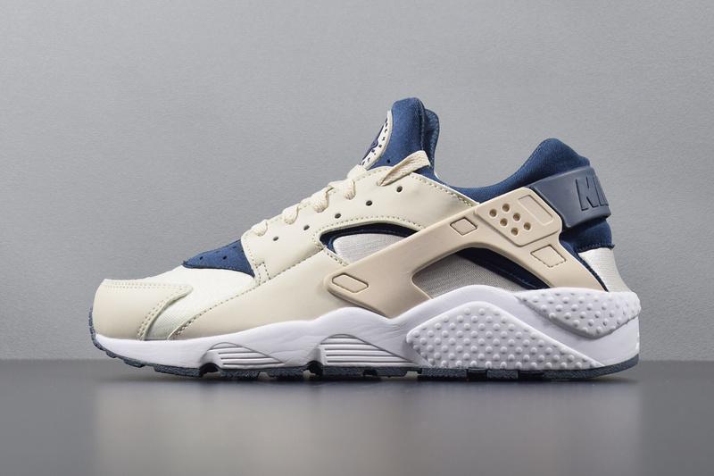 quality design 50fce db27b Prev Nike Air Huarache Mens Running Shoe Orange Navy Blue ...
