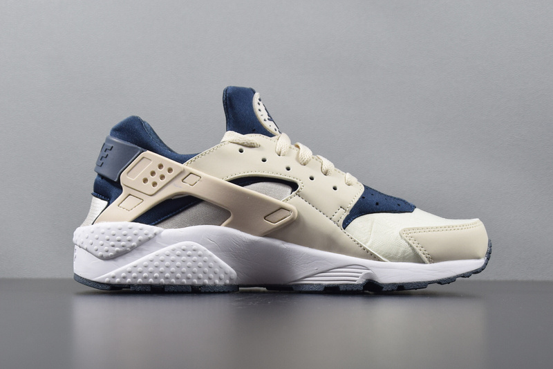 Nike Air Huarache Mens Running Shoe Orange Navy Blue Brown 634835 ... eb5f054f9