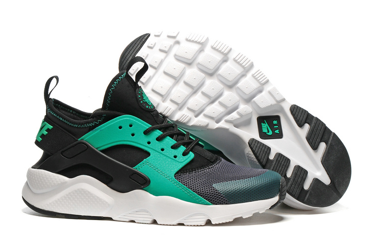 Nike Air Huarache Run Ultra Br Running Shoes Sneakers Dark Grey Menta Black 819685 003