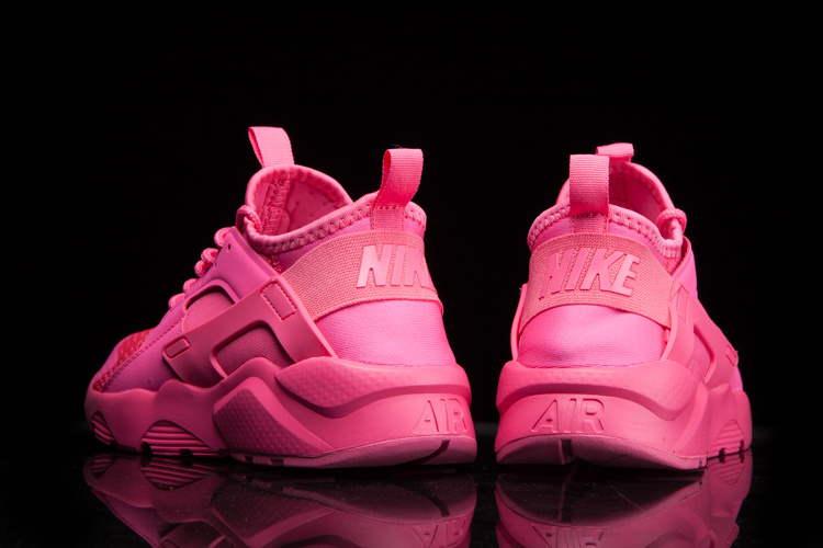 save off 4906b e3c8b ... Nike Air Huarache Run Ultra Breathe Women Sneakers Shoes All Pink  833292-600