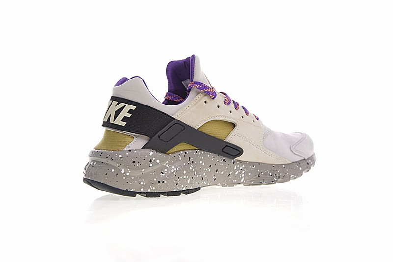 Nike Air Huarache Run Ultra ID Custom Purple Grey Black Colorful 829669-337 e7a927788f0a