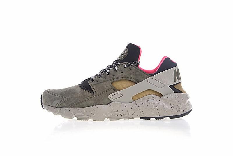 c47bdbab443 Prev Nike Air Huarache Run Ultra ID Moss Green Brown And Pink 829669-336