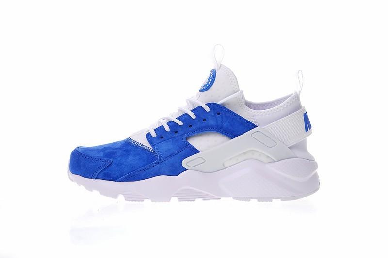 Prev Nike Air Huarache Ultra Suede ID Unisex Blue White 829669-663. Zoom d7e7d3fec3bc