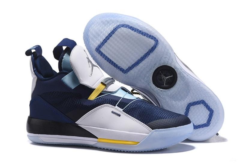 Nike Air Jordan 33 Retro BV5072 405 Dark Blue