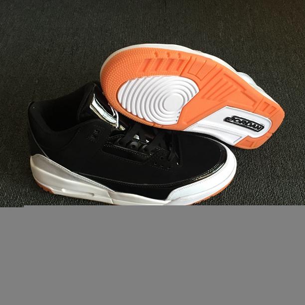 separation shoes b2645 46e40 Prev Nike Air Jordan III 3 Retro Men Basketball Shoes Black White Orange.  Zoom
