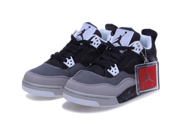 967090fc63c Air Jordan 4 Retro Fear Pack Black Grey White 626969 030 - Febbuy