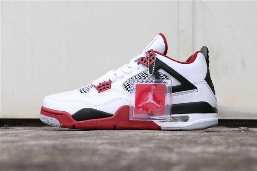 the latest b5295 4760c Nike Air Jordan 4 Retro OG Fire Red White 308497-160