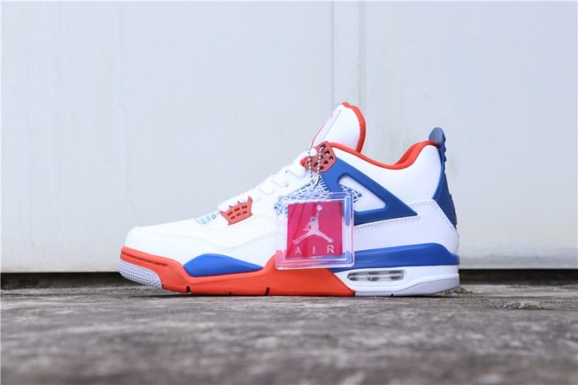 21d1b8214db870 Prev Nike Air Jordan 4 Retro OG White Blue Orange 308497-171. Zoom
