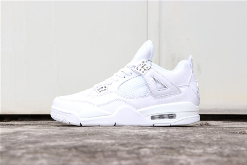 superior quality 406cd 19cbf Prev Nike Air Jordan 4 Retro Pure Money White 308497-100