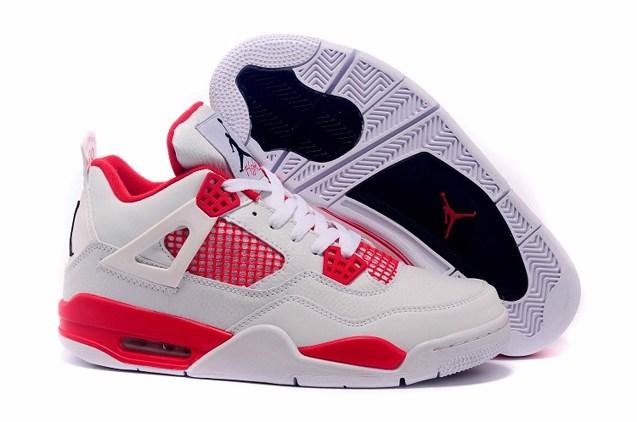 8c96b53cede4 Prev Nike Air Jordan Retro IV 4 Alternate 89 White Black Gym Red 308497 106