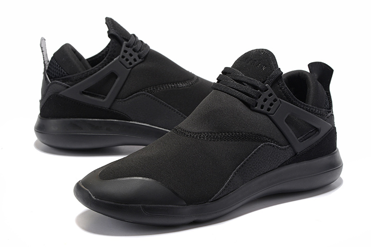 4f657b1d69b0 Nike Air Jordan Fly 89 AJ4 all black Running Shoes - Febbuy