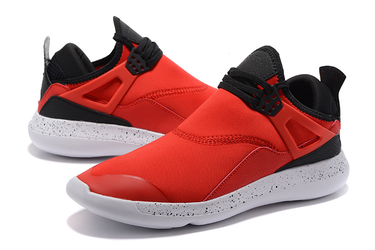 f5adad64a09897 ... Nike Air Jordan Fly 89 AJ4 red black white Running Shoes ...