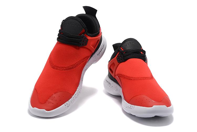 72ef4e42914f Nike Air Jordan Fly 89 AJ4 red black white Running Shoes - Febbuy