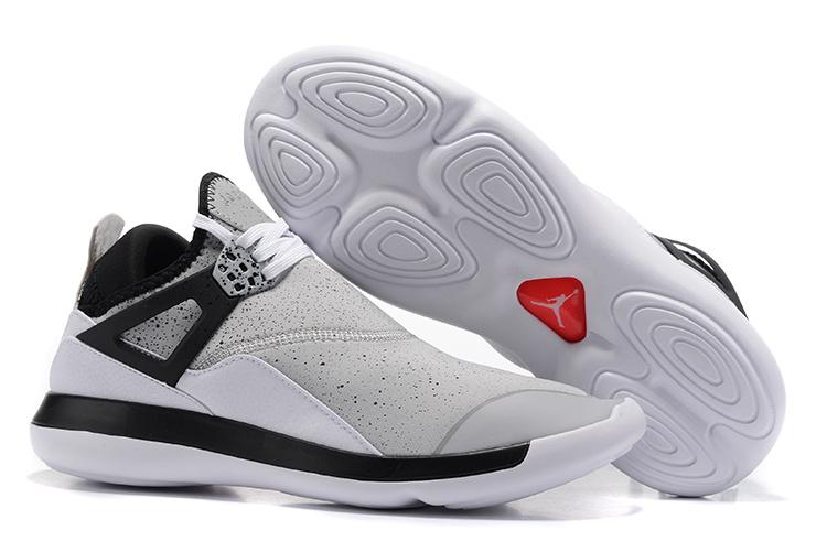 Nike Air Jordan Fly 89 AJ4 white black Running Shoes - Febbuy