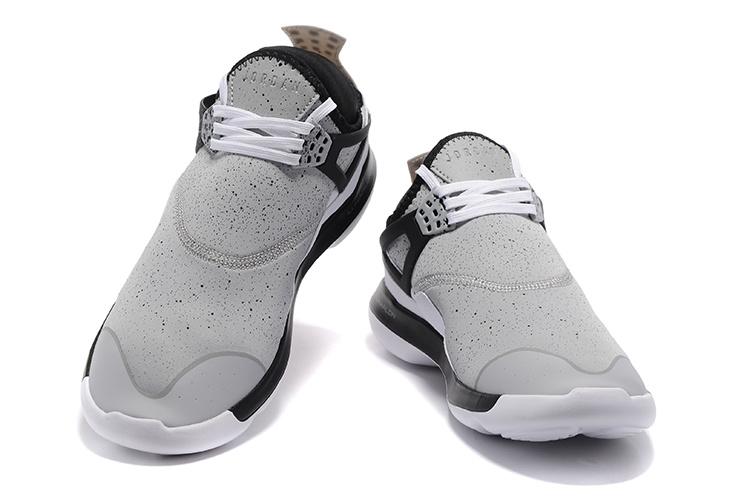 e6b44f7ae47b Nike Air Jordan Fly 89 AJ4 white black Running Shoes - Febbuy