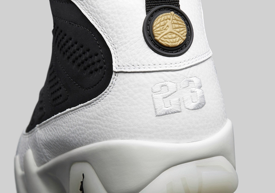 19f938da06cb78 ... Air Jordan 9 City Of Flight Black Summit White Black Metallic Gold  302370 021