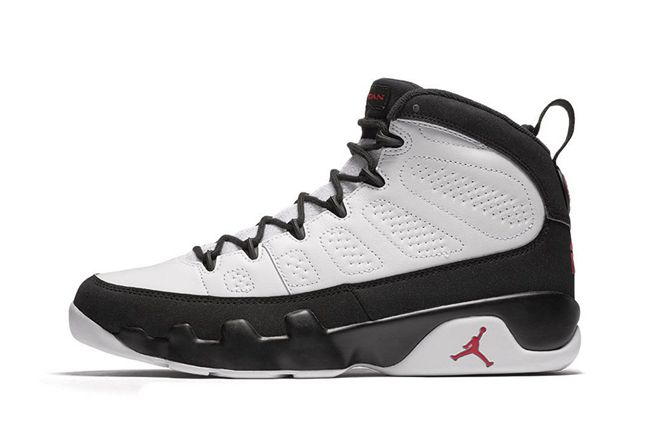fa2248ef1847b5 Nike Air Jordan 9 IX OG Space Jam Men Basketball Shoes White Black ...