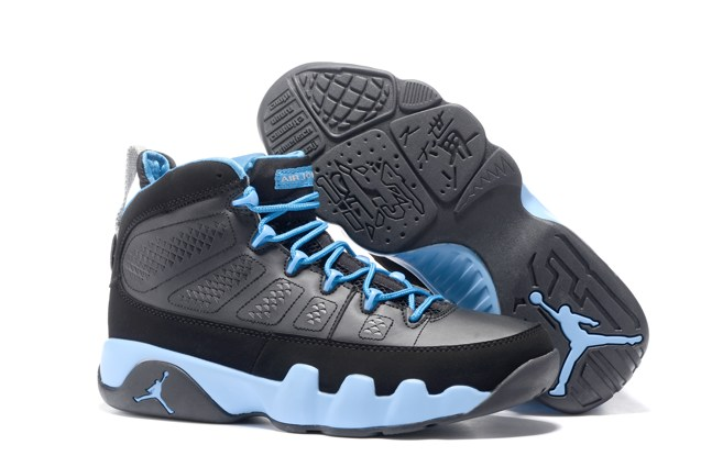 527d41dee08198 Nike Air Jordan 9 IX Retro Slim Jenkins UNC University Blue Men ...