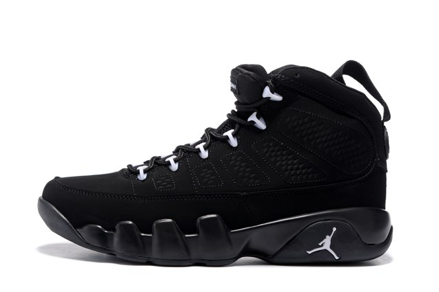 044505c995dae3 Nike Air Jordan 9 Retro IX Anthracite White Black Shoes 302370 013 Unisex  ...