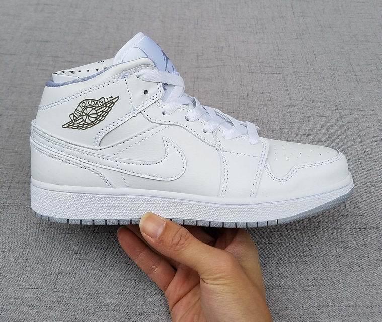 Air I New Nike Retro Ds Shoes Women Jordan 1 White 2017 All v8OmwNn0