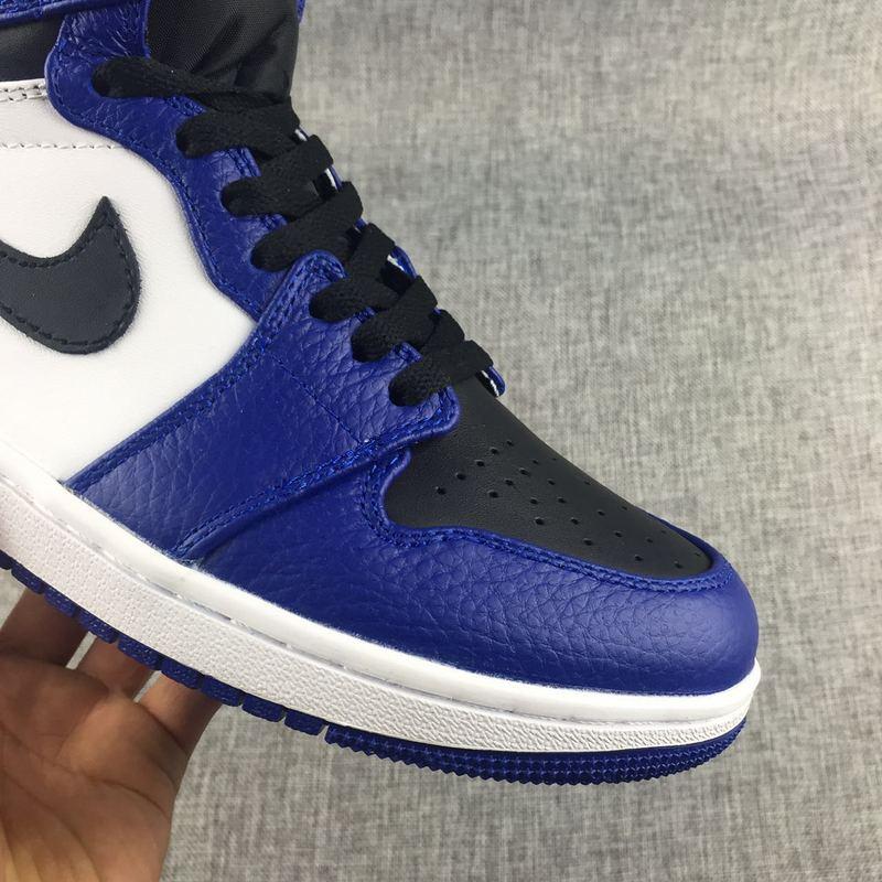 329e208be101 NEW DS 2017 Nike Air Jordan I 1 Retro Royal Blue Black White Men Shoes ...