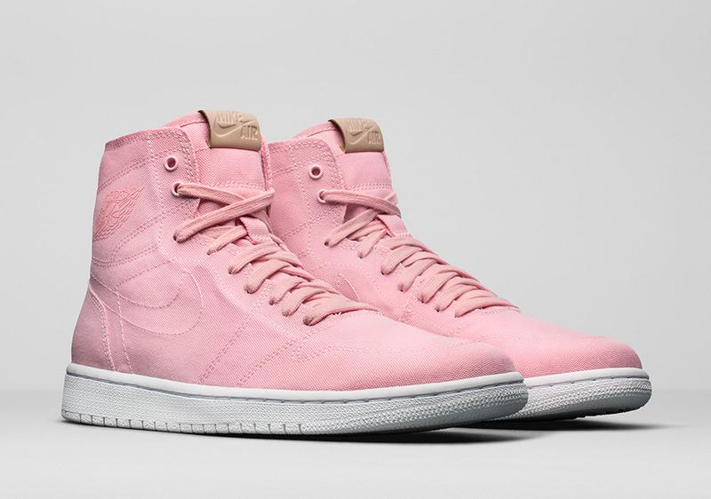 buy popular d6ea9 008f5 Prev Nike Air Jordan 1 Retro High Decon pink women basketball shoes  867338-620. Zoom