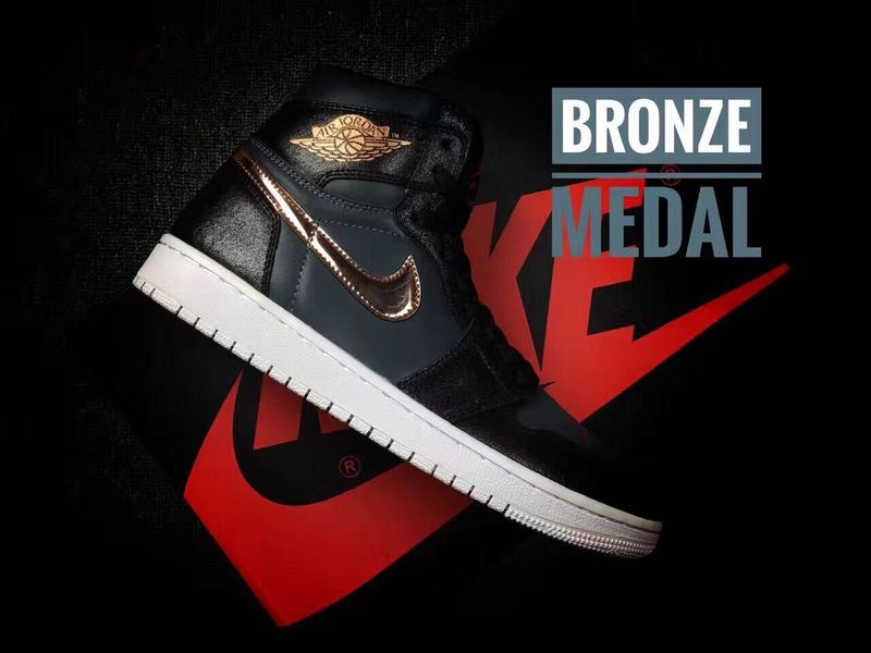 huge discount 3092d 88b09 Prev Nike Air Jordan I 1 Retro High Shoes Sneaker Basketball Men Bronze  Medal. Zoom