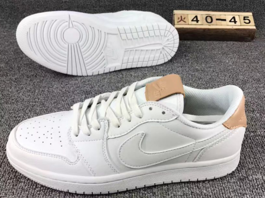 1da75a086009 Nike Air Jordan 1 Retro Low OG PREM white Men Basketball Shoes ...