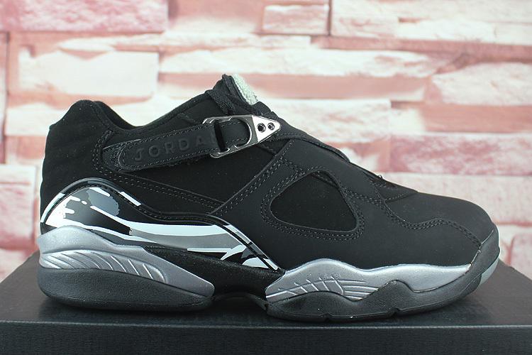 low cost 71f2e 0736b ... Air Jordan VIII Low  . Prev Nike Air Jordan Retro 8 Low Black Grey White  Concord Men Basketball Shoes 305381-003. Zoom