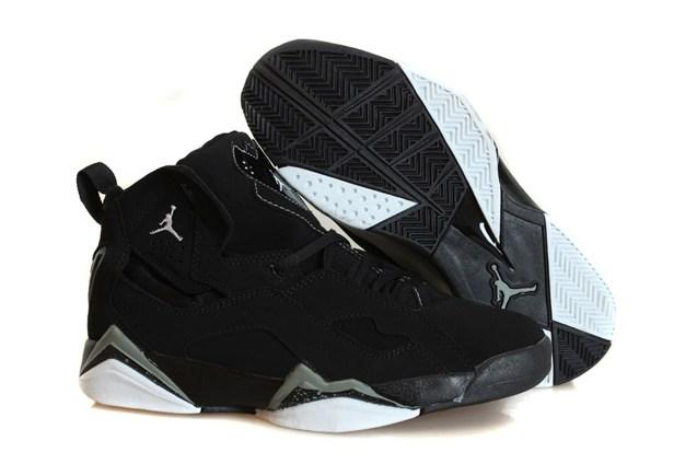Nike Air Jordan True Flight Men 342964 010 Black Cool Grey