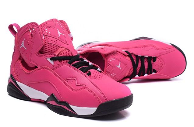 e042183f6e4883 Nike Air Jordan Ture Flight Valentines Day 342774 609 Rose - Febbuy