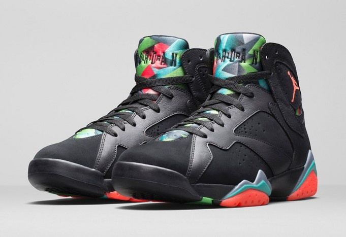 check out b4f5c 4c288 Air Jordan 7 - Barcelona Nights Black Blue Graphite Retro Infrared ...