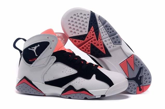 282ba4eb258c8b Nike Air Jordan Retro 7 VII Hot Lava White Black 442960 106 - Febbuy