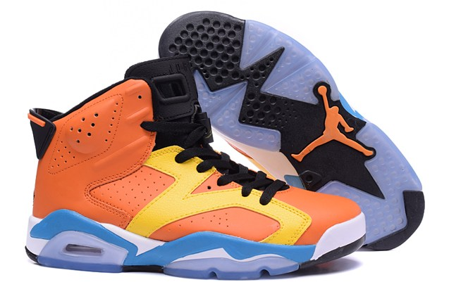 f09cb55db67e Prev NIKE AIR JORDAN 6 RETRO VI INFRARED Orange Yellow 309387 200. Zoom.  Move your mouse over image or click to enlarge
