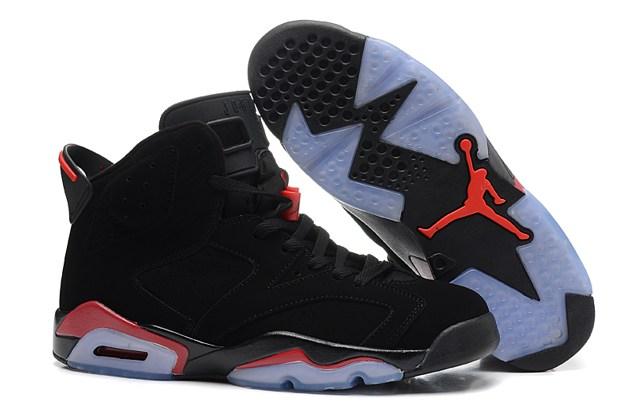 176d0cd76d5 Nike Air Jordan 6 Retro Black Infrared NIB 384664 023 - Febbuy