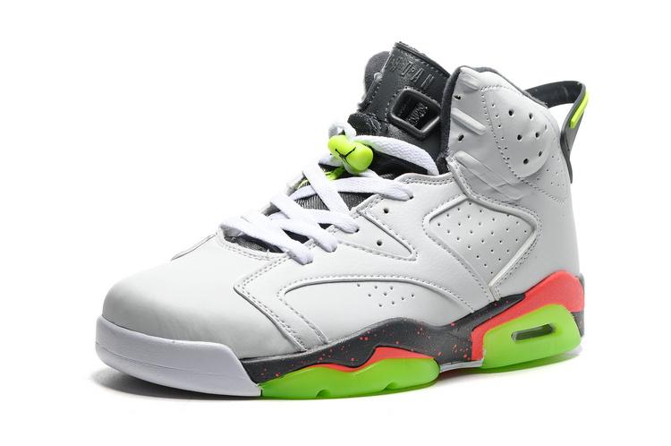 Red White Vi Air 018 Jordan Cement 384664 Men Shoes Retro Grey Green Nike 6 roeEQdCWxB