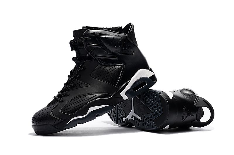 Air Jordan Men 384664 Nike White Shoes 6 Cat Black 020 Retro