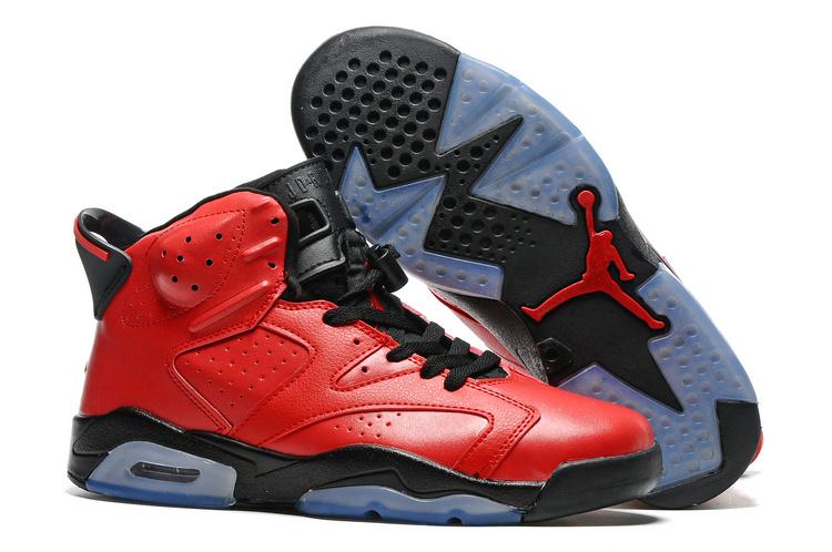 106ce0a1097 Prev Nike Air Jordan VI 6 Retro Infrared 23 Red Black Toro Men Basketball  Shoes 384664-. Zoom