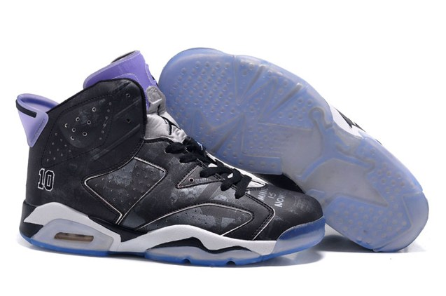 d620441510757d Prev Nike Air Jordan VI 6 Retro Slam Dunk Men Shoes Black 717302 600. Zoom