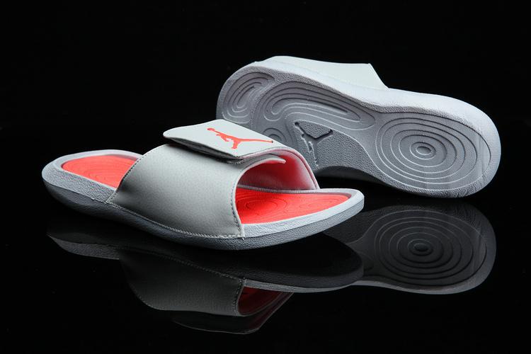 size 40 bb1d9 25d2f Prev Nike Jordan Hydro 6 grey orange men Sandal Slides Slippers 881473-028.  Zoom