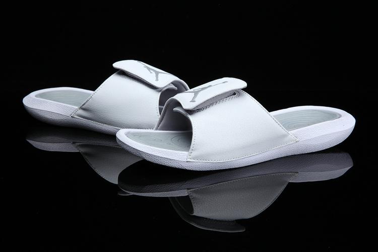 415c21e87 ... Nike Jordan Hydro 6 white grey Women Sandal Slides Slippers 881474-100