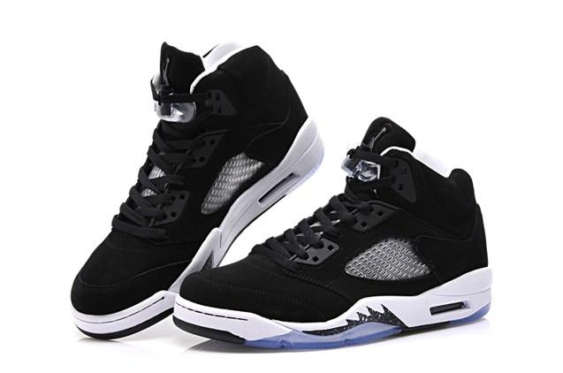 buy popular 7ff49 00789 ... inexpensive nike air jordan v 5 retro gs oreo black white cool grey  440888 035 598f8