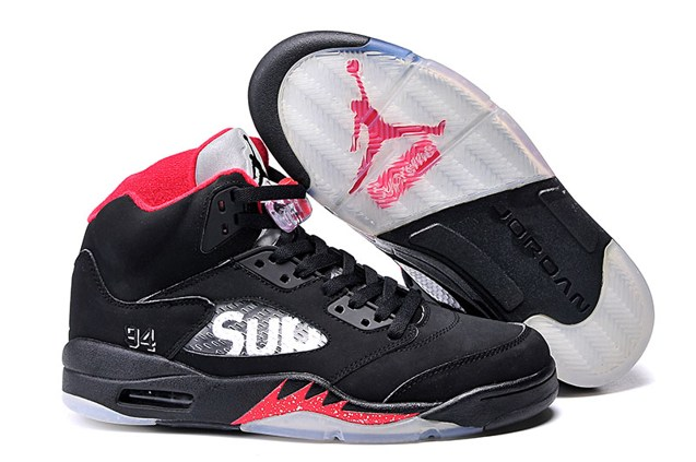brand new be3d6 c3473 Prev Nike Air Jordan 5 Retro V Supreme Fire Red Black 824371 001 Young