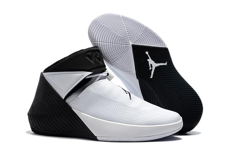 Nike Shoes Air Basketball White Jordan Westbrook Black Men 9IEDHY2W