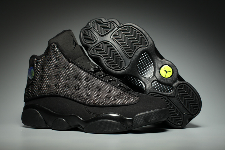 48d98c5bfc53bd Prev 2017 Nike Air Jordan XIII 13 Retro Black Cat Anthracite Men Shoes  414571-011