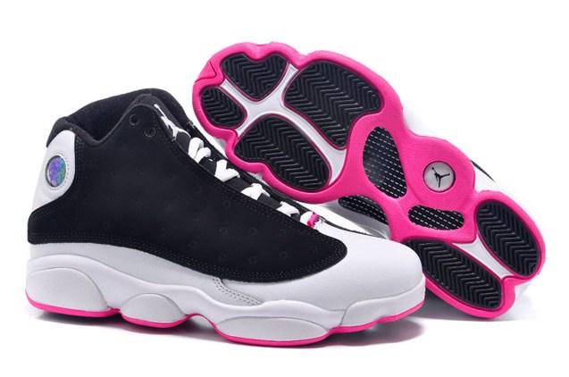 on sale 310d4 30a14 ... 13 Retro Hyper Pink AJXIII GS Women Shoes 439358 008. Zoom